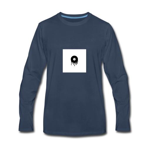 music disc - Men's Premium Long Sleeve T-Shirt