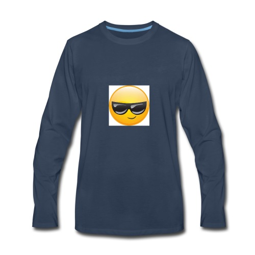 Cool Face - Men's Premium Long Sleeve T-Shirt