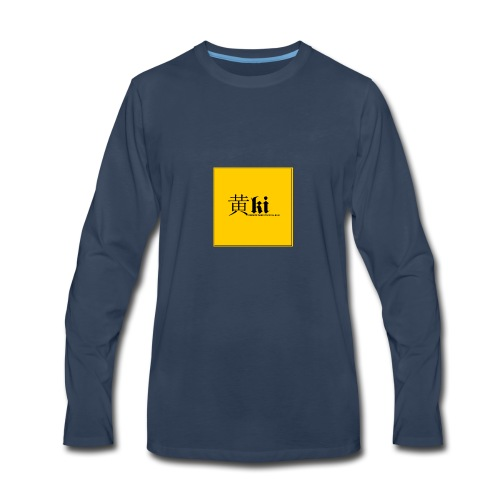 Ki - Men's Premium Long Sleeve T-Shirt