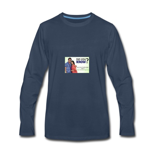 did you know - Men's Premium Long Sleeve T-Shirt