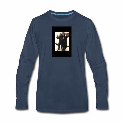 $Free The Twins$ - Men's Premium Long Sleeve T-Shirt