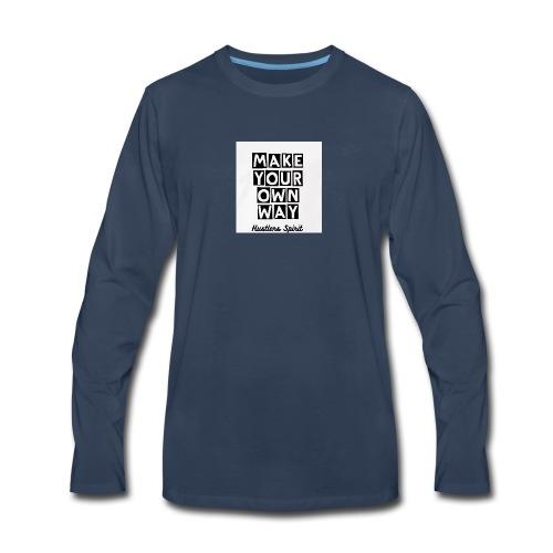 MYOW501 - Men's Premium Long Sleeve T-Shirt