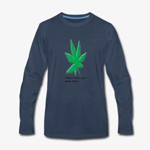 weed - Men's Premium Long Sleeve T-Shirt