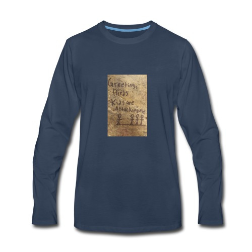 Kids are attacking me - Men's Premium Long Sleeve T-Shirt