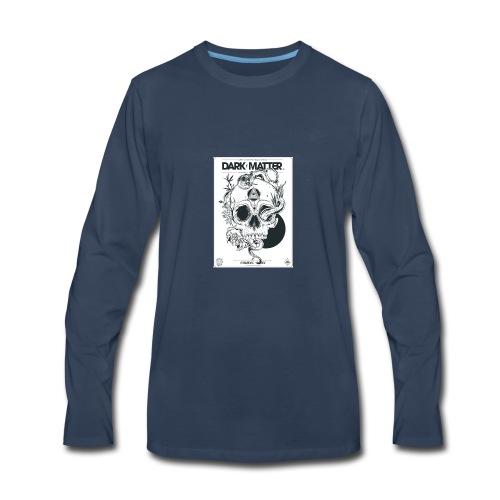 Flowery-Skull - Men's Premium Long Sleeve T-Shirt