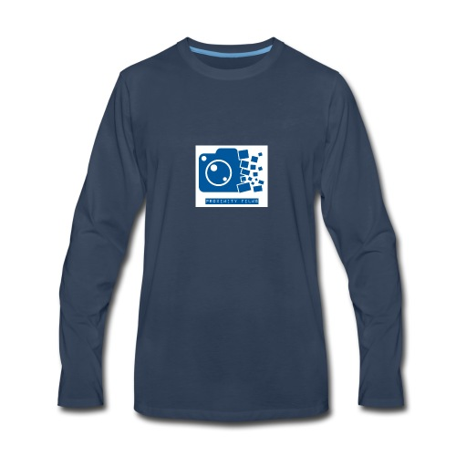 Proximity Films official logo - Men's Premium Long Sleeve T-Shirt