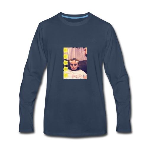 Snapchat 722623678 - Men's Premium Long Sleeve T-Shirt