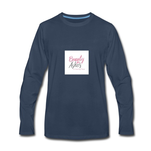Beauty for Ashes - Men's Premium Long Sleeve T-Shirt