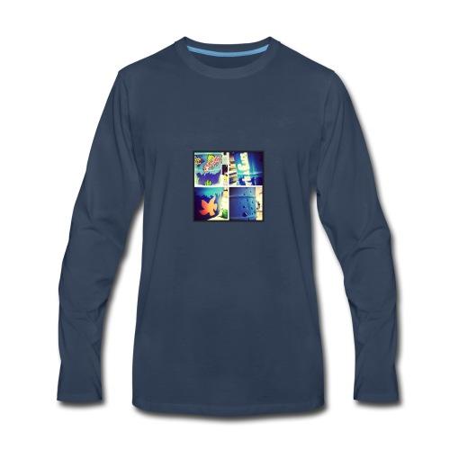 cool art - Men's Premium Long Sleeve T-Shirt