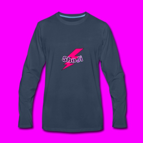 Official ShoJi Art - Men's Premium Long Sleeve T-Shirt