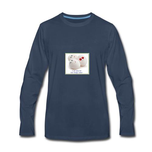 3 idiot - Men's Premium Long Sleeve T-Shirt