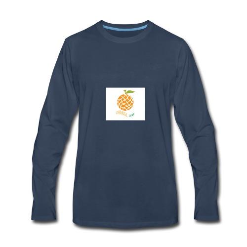 ORANGE - Men's Premium Long Sleeve T-Shirt