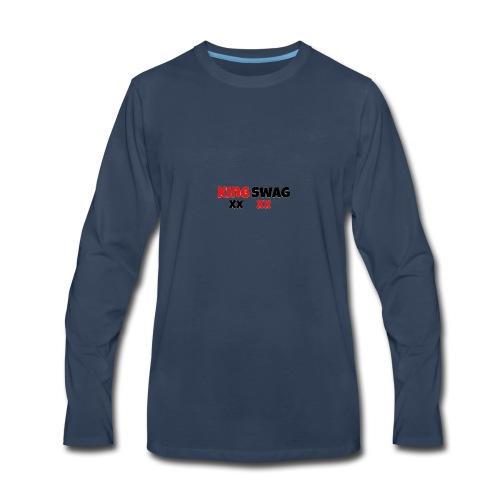 XxKingSwagxX - Men's Premium Long Sleeve T-Shirt