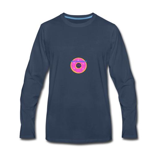 WET DOUGHNUT FILMS - Men's Premium Long Sleeve T-Shirt