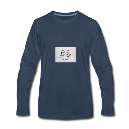 cool Beans - Men's Premium Long Sleeve T-Shirt