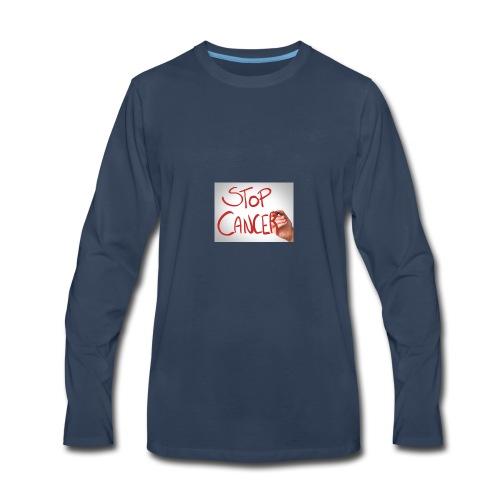 The vlog King!! - Men's Premium Long Sleeve T-Shirt