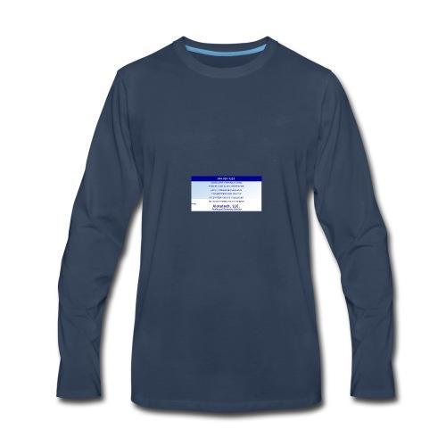Big Sign Design 1 - Men's Premium Long Sleeve T-Shirt