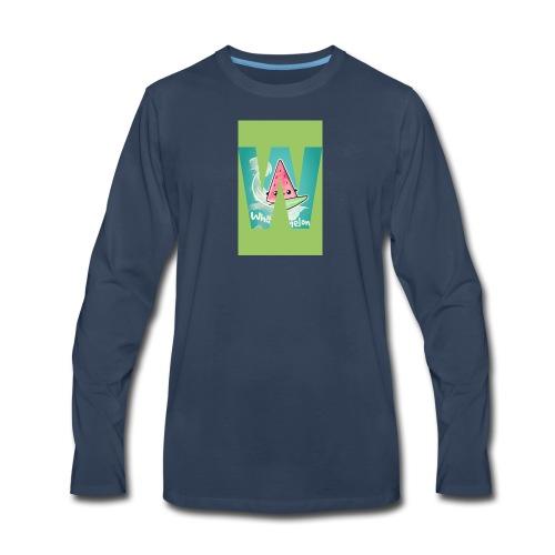 Surfing meloan - Men's Premium Long Sleeve T-Shirt