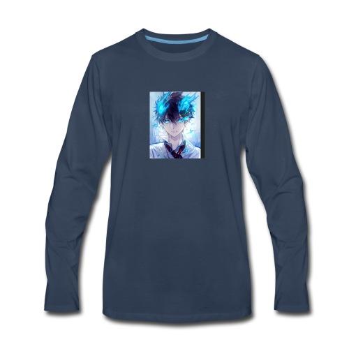 BlueWolf god - Men's Premium Long Sleeve T-Shirt