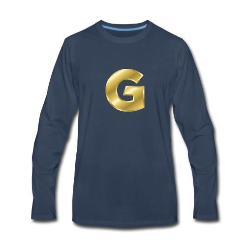 Golden G - Men's Premium Long Sleeve T-Shirt