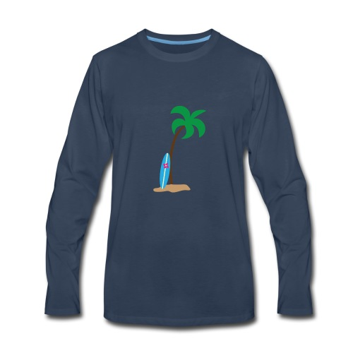 Cali - Men's Premium Long Sleeve T-Shirt