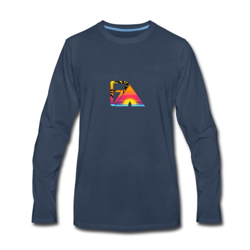 Beach theme - Men's Premium Long Sleeve T-Shirt