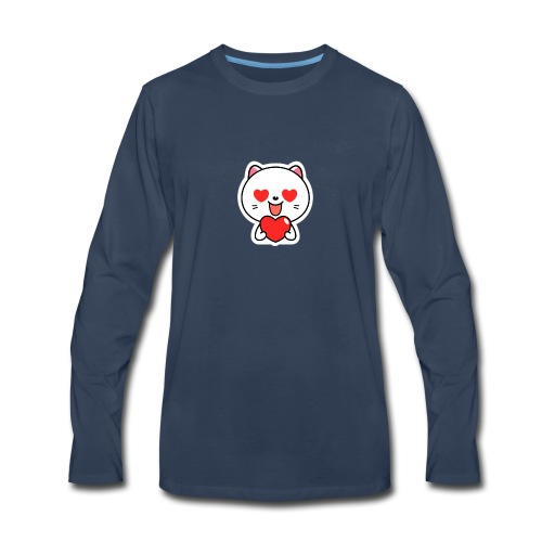 mayo the viber cat 2 by em120xd7ic33y - Men's Premium Long Sleeve T-Shirt