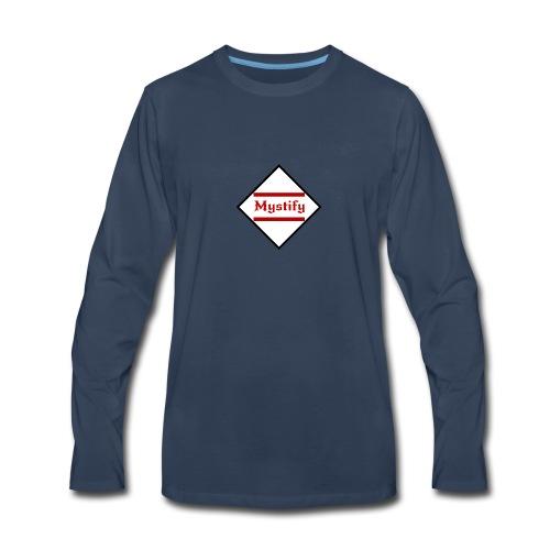 Mystify Logo #3 - Men's Premium Long Sleeve T-Shirt