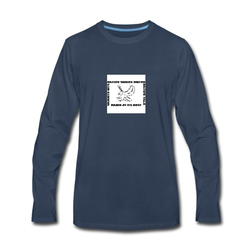 NVU RADIO - Men's Premium Long Sleeve T-Shirt