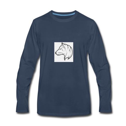 NateDogg1220 logo - Men's Premium Long Sleeve T-Shirt