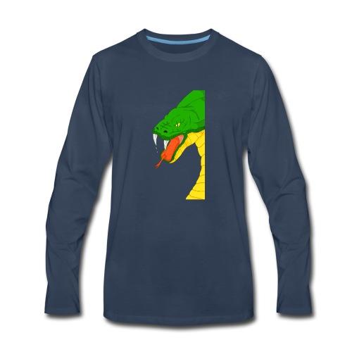 Cool snake - Men's Premium Long Sleeve T-Shirt