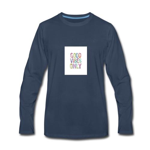 good vibes - Men's Premium Long Sleeve T-Shirt