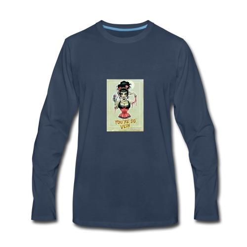 So Vein - Men's Premium Long Sleeve T-Shirt