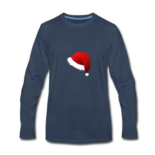 Carmaa Santa Hat Christmas Apparel - Men's Premium Long Sleeve T-Shirt