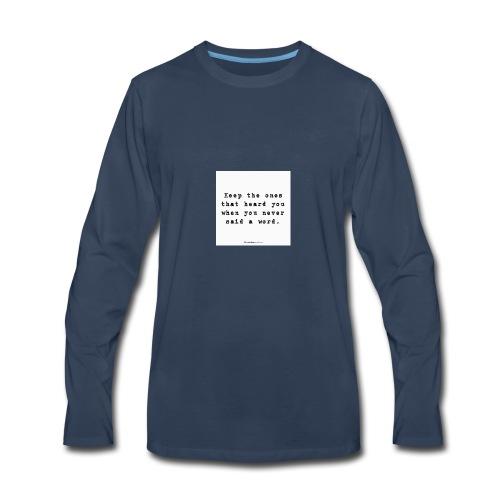 e4ba8bbc1d6516e2a24e5827f27368c0 cool friendship - Men's Premium Long Sleeve T-Shirt