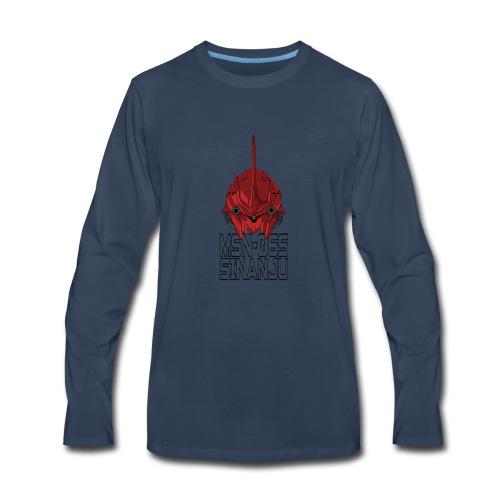 msn 06s sinanju 2 - Men's Premium Long Sleeve T-Shirt
