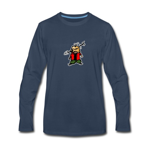 Pene piola, uwu. - Men's Premium Long Sleeve T-Shirt