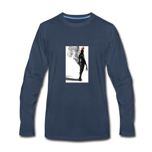 el rey oscuro - Men's Premium Long Sleeve T-Shirt