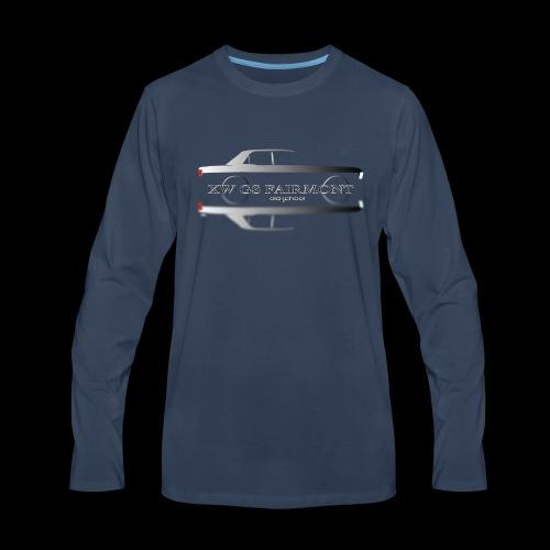 XW GS GHOST - Men's Premium Long Sleeve T-Shirt