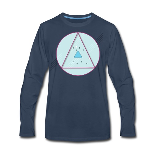 City South Triangle - Men's Premium Long Sleeve T-Shirt