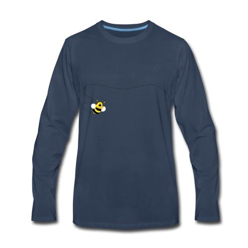 3 Sisters Flying Bee - Men's Premium Long Sleeve T-Shirt