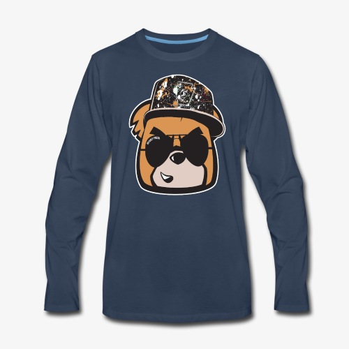 Bearly Fresh FACEONLY - Men's Premium Long Sleeve T-Shirt
