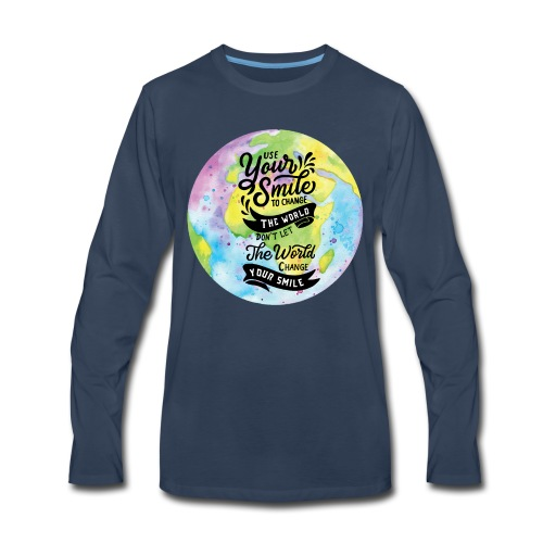 Use Your Smile - Men's Premium Long Sleeve T-Shirt