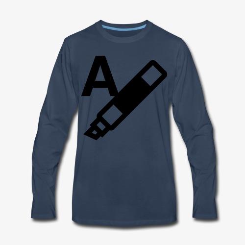 highlight text 9725fbfa6ecab13807d8513a8f59a9b5 - Men's Premium Long Sleeve T-Shirt