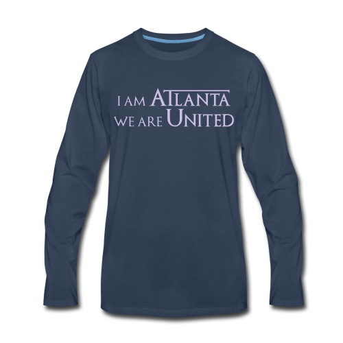IamAtlanta - Men's Premium Long Sleeve T-Shirt