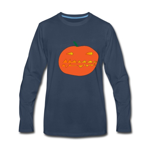 happy halloween - Men's Premium Long Sleeve T-Shirt