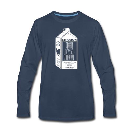 Missing - Men's Premium Long Sleeve T-Shirt