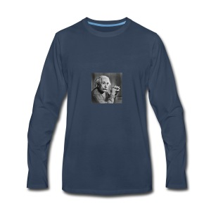 Albert Einstein - T-shirt Premium à manches longues pour hommes