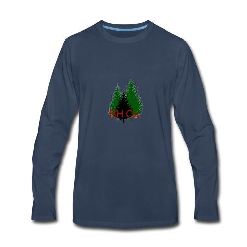 EVERGREEN LOGO - Men's Premium Long Sleeve T-Shirt