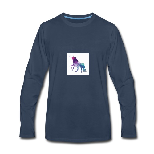 galaxy unicorn - Men's Premium Long Sleeve T-Shirt
